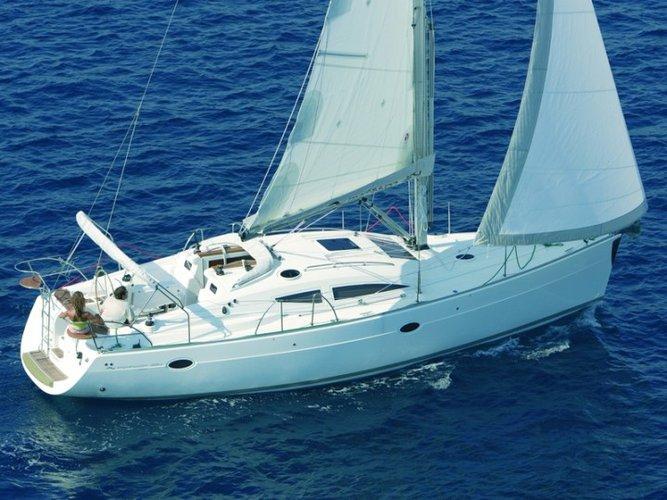 Experience Istra, HR on board this amazing Elan Marine Elan 384 Impression