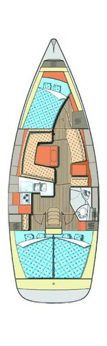 This 37.0' Elan Marine cand take up to 8 passengers around Istra