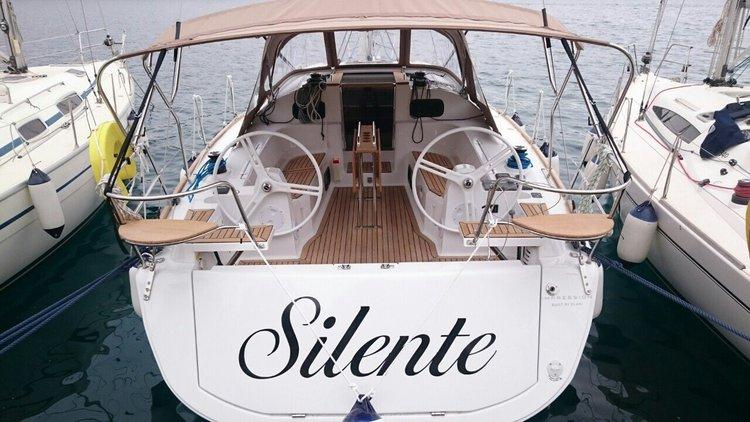 Take this Elan Marine Elan Impression 40 for a spin!