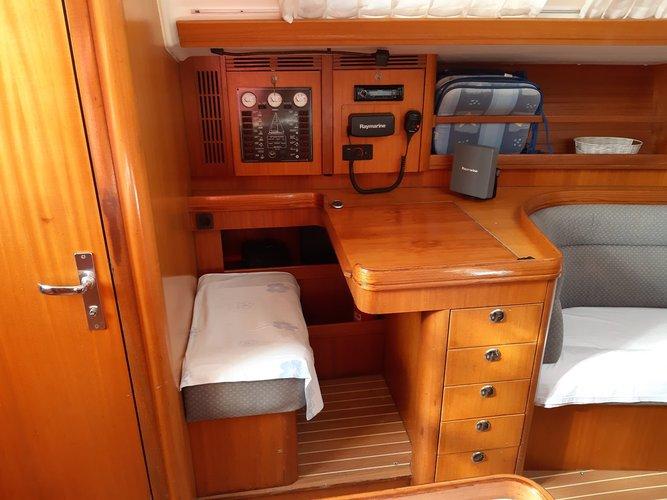 Discover Zadar region surroundings on this Elan 40 Elan Marine boat