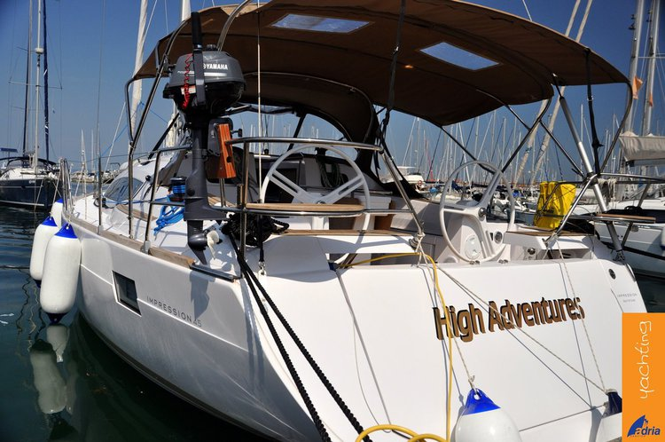 All you need to do is relax and have fun aboard the Elan Marine Elan Impression 45