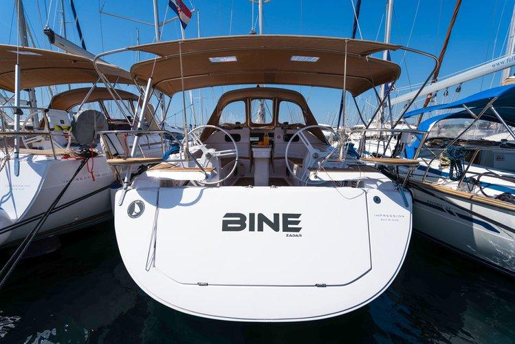 Experience Zadar region, HR on board this amazing Elan Marine Elan Impression 45