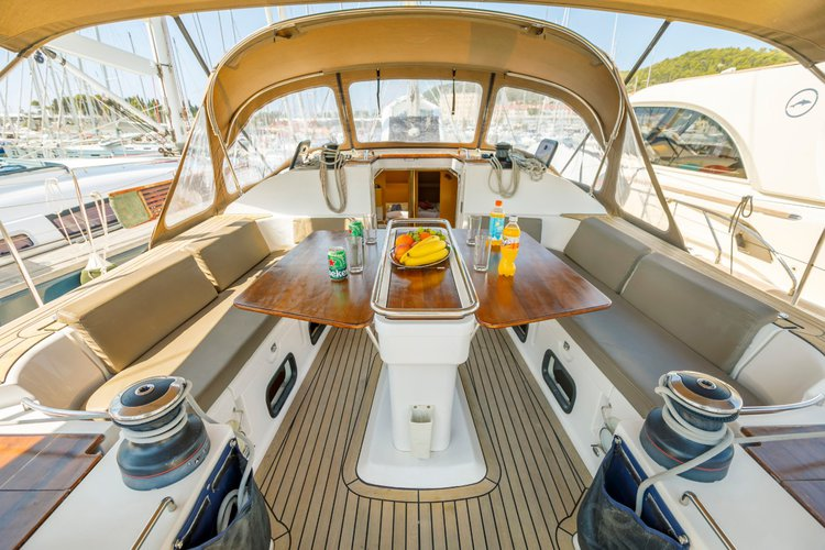 Discover Split region surroundings on this Elan 494 Impression Elan Marine boat