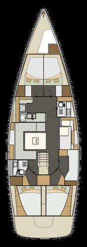Discover Kvarner surroundings on this Elan Impression 50 Elan Marine boat