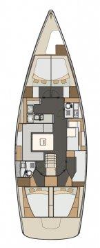 Boat for rent Elan Marine 49.0 feet in Marina Kornati, Biograd, Croatia