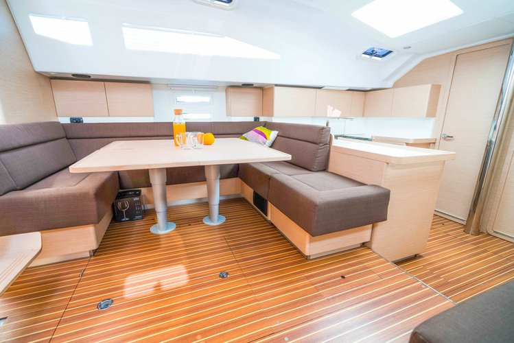 Discover Zadar region surroundings on this Elan Impression 50 Elan Marine boat