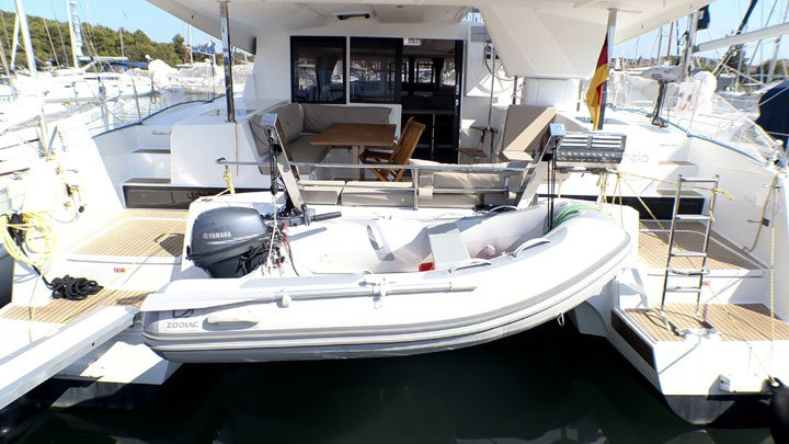 Discover Šibenik region surroundings on this Fountaine Pajot Lucia 40 Fountaine Pajot boat