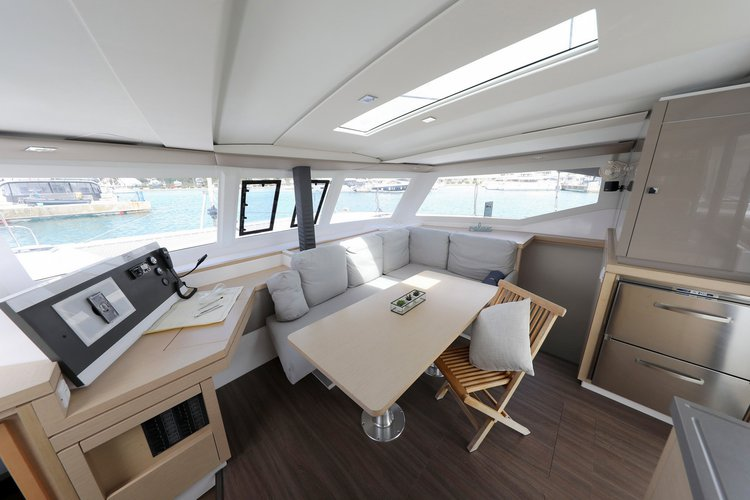 Boat for rent Fountaine Pajot 38.0 feet in Marina Sangulin, Biograd, Croatia