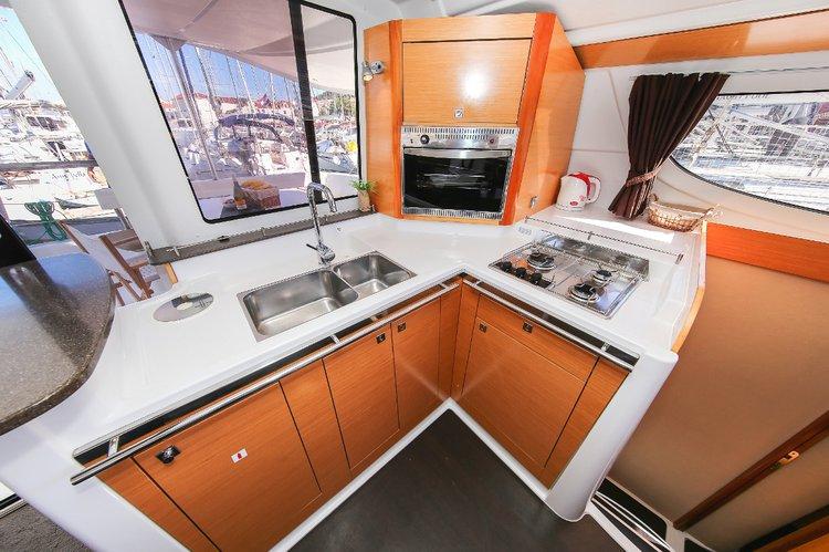 Discover Split region surroundings on this Lipari 41 Fountaine Pajot boat