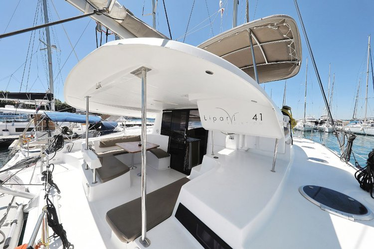 Catamaran boat rental in Marina Tankerkomerc, Zadar, Croatia