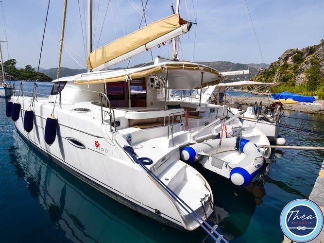 Rent this Fountaine Pajot Fountaine Pajot Lipari 41 for a true nautical adventure