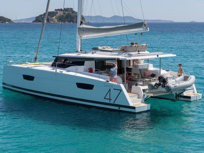 Enjoy luxury and comfort on this Ishøj sailboat charter