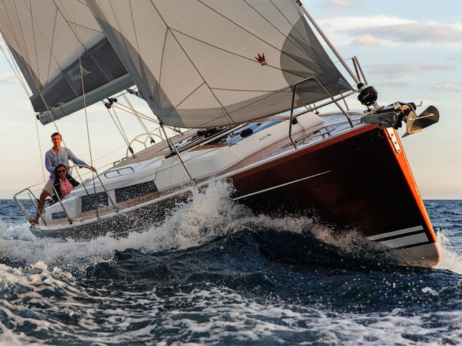 Take this Hanse Yachts Hanse 388 for a spin!