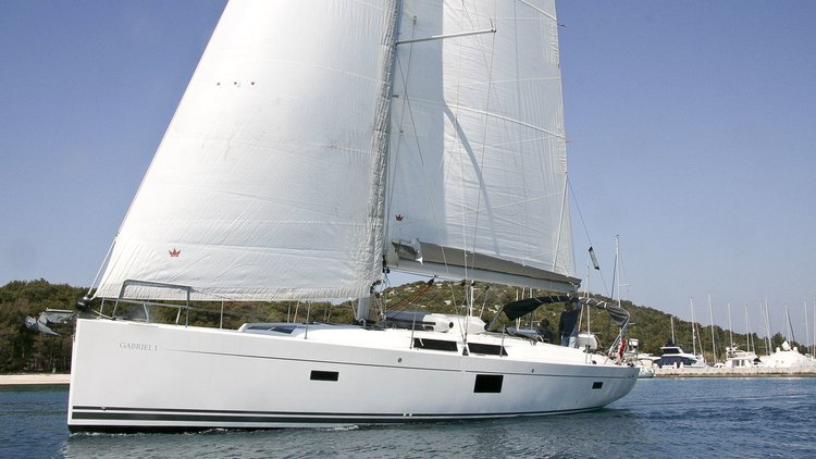 Experience Šibenik region, HR on board this amazing Hanse Yachts Hanse 455