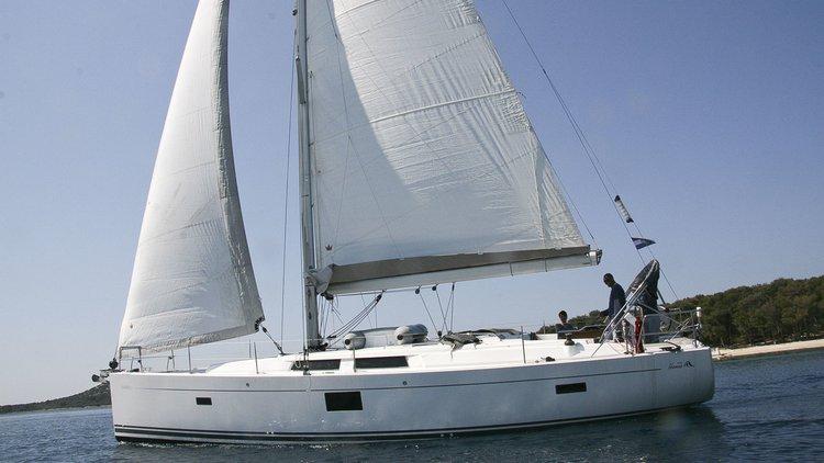 Boat for rent Hanse Yachts 45.0 feet in Marina Frapa, Rogoznica, Croatia