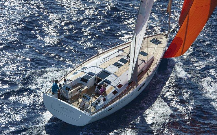 This 50.0' Hanse Yachts cand take up to 11 passengers around Split region