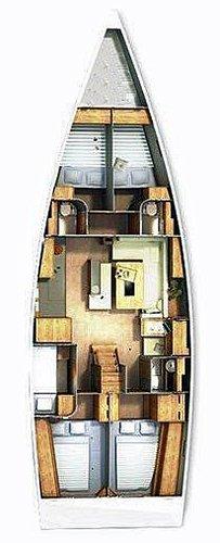Discover Split region surroundings on this Hanse 505 Hanse Yachts boat
