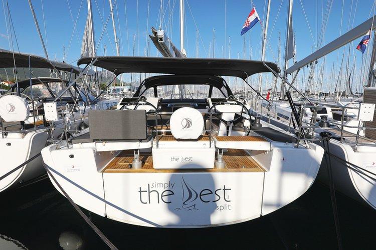 Charter this amazing Hanse Yachts Hanse 548 in Split region, HR