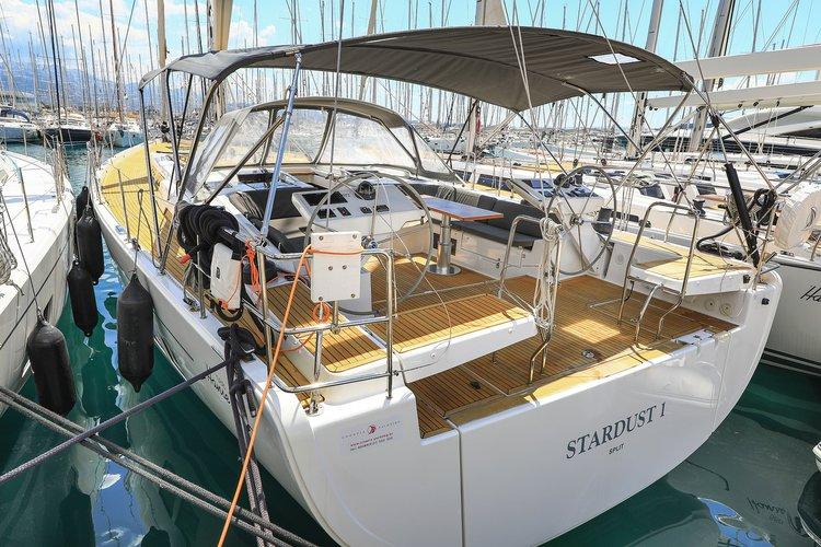 Enjoy Split region, HR to the fullest on our comfortable Hanse Yachts Hanse 588