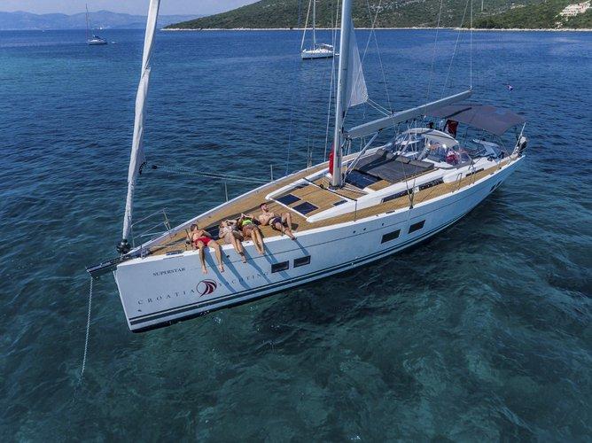 Boat for rent Hanse Yachts 56.0 feet in Marina Kastela, Kastela, Croatia