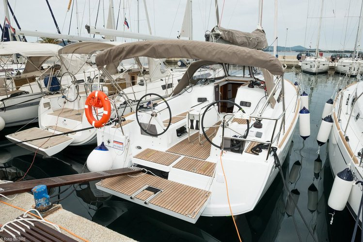 Discover Zadar region surroundings on this Sun Odyssey 349 Jeanneau boat