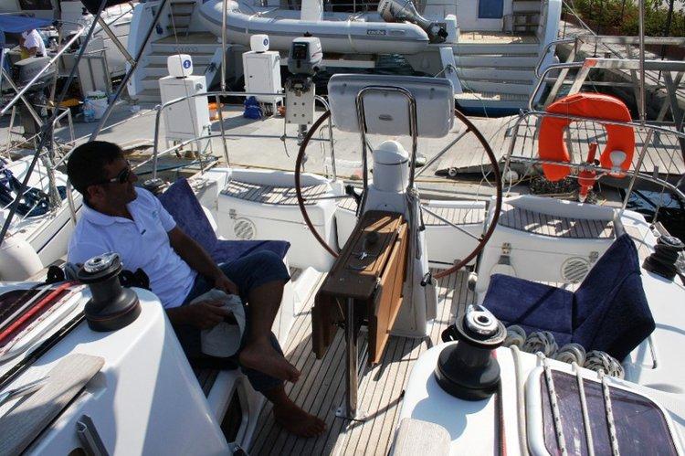 Jeanneau's 35.0 feet in Aegean