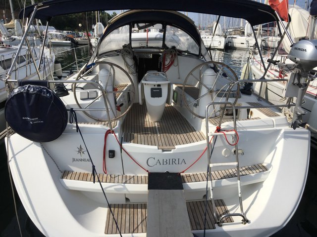 Sailing is a pleasure on a superb sailboat for rent