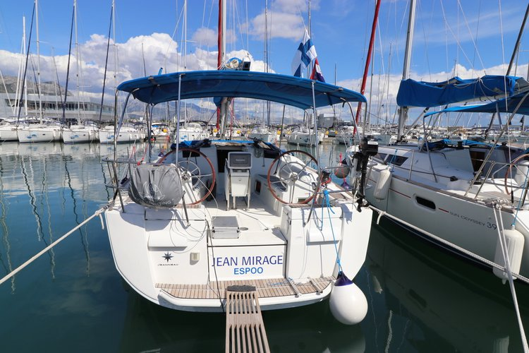 Have fun in the sun on this sailboat charter