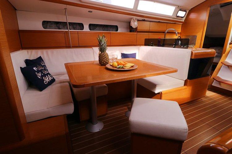 Discover Split region surroundings on this Sun Odyssey 409 Performance Jeanneau boat