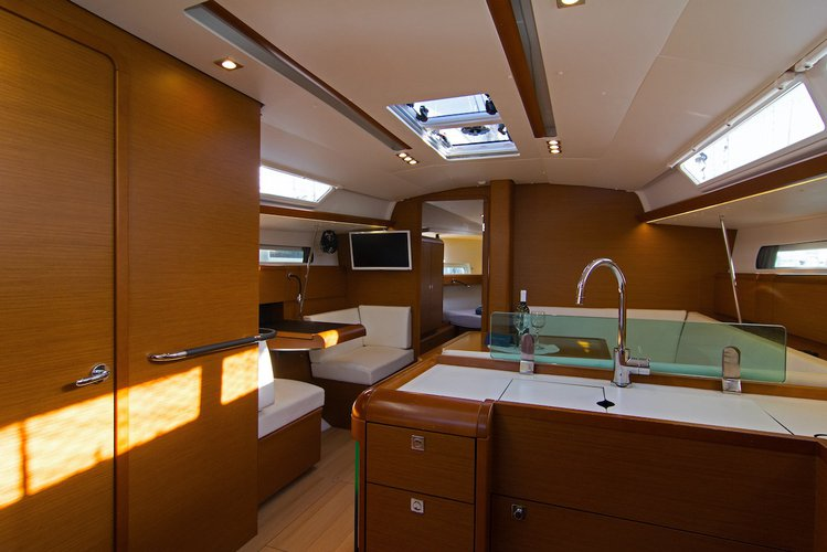 Discover Split region surroundings on this Sun Odyssey 419 Jeanneau boat