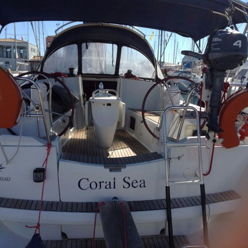 Sail the beautiful waters of  on this cozy Jeanneau Sun Odyssey 42i