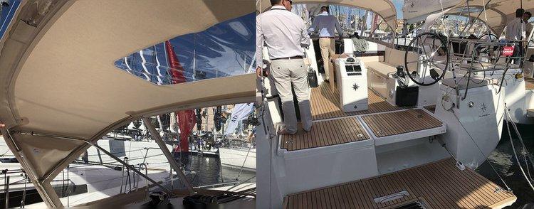 Jeanneau's 42.0 feet in Saronic Gulf