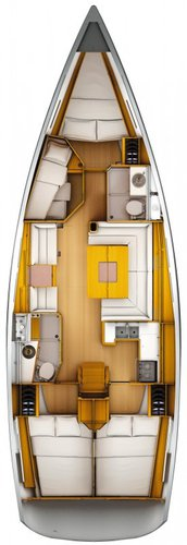 Jeanneau boat for rent in Istra