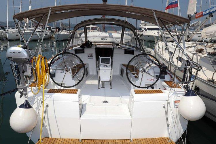 Discover Zadar region surroundings on this Sun Odyssey 449 Jeanneau boat
