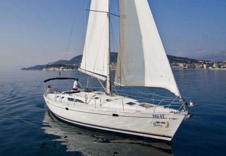 Experience Split region, HR on board this amazing Jeanneau Sun Odyssey 45.2