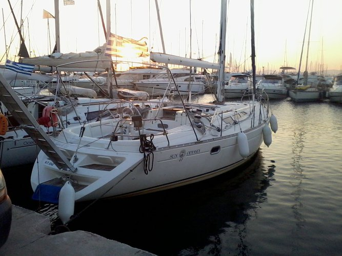 Jeanneau's 47.0 feet in Saronic Gulf
