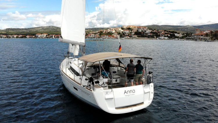 Boat for rent Jeanneau 47.0 feet in Marina Frapa, Rogoznica, Croatia