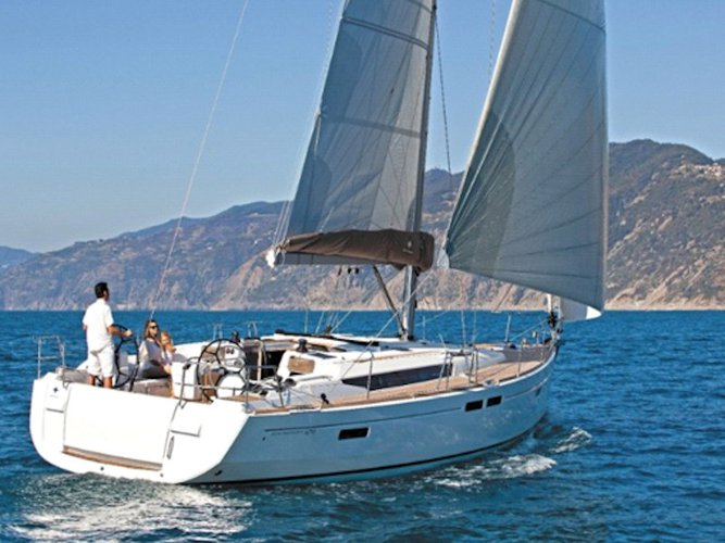 Experience Kos, GR on board this amazing Jeanneau Sun Odyssey 519
