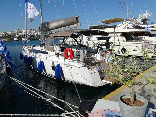 Jeanneau's 53.0 feet in Saronic Gulf