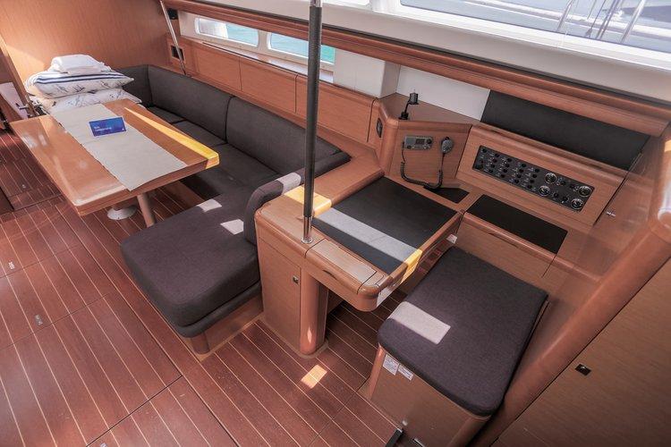 Discover Split region surroundings on this Jeanneau 57 Jeanneau boat