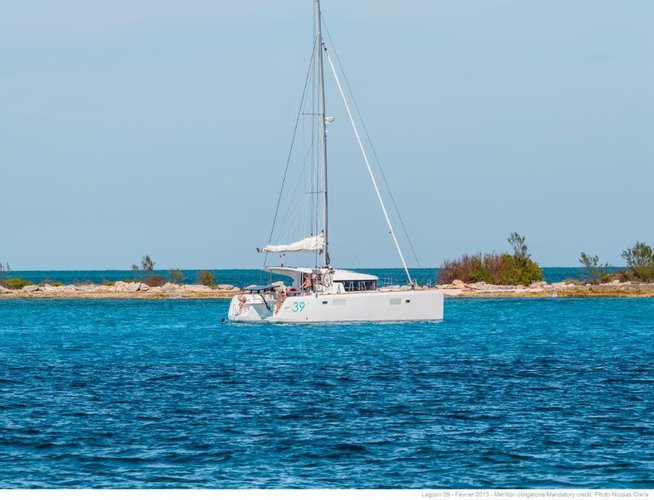 Boat for rent Lagoon-Bénéteau 38.0 feet in ACI marina Slano, Croatia
