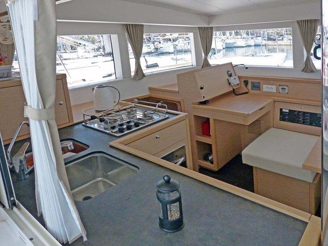 Lagoon-Beneteau boat for rent in Saronic Gulf