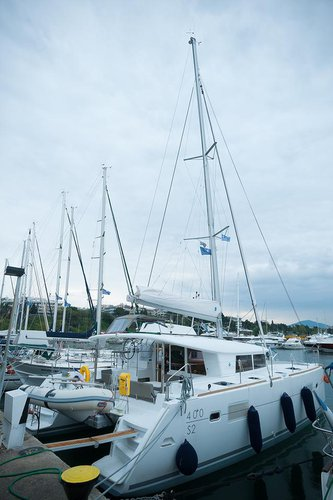 Hop aboard this amazing sailboat rental in Macedonia!