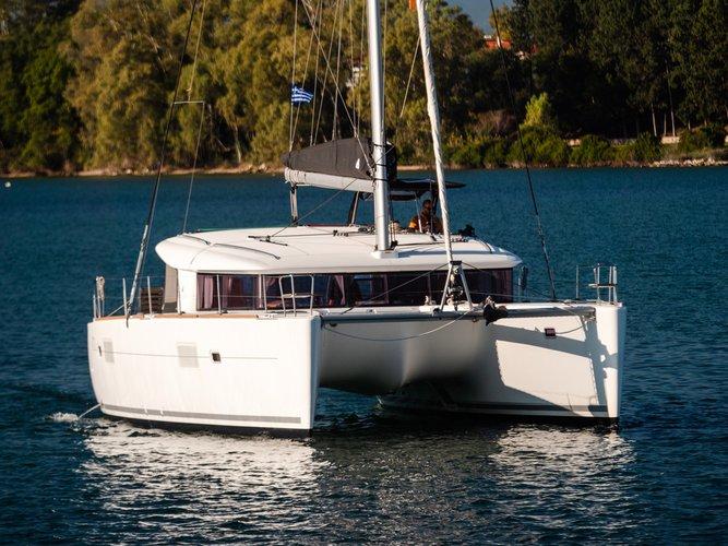 Boat for rent Lagoon-Bénéteau 39.0 feet in Athens, Marina Alimos (Kalamaki), Greece