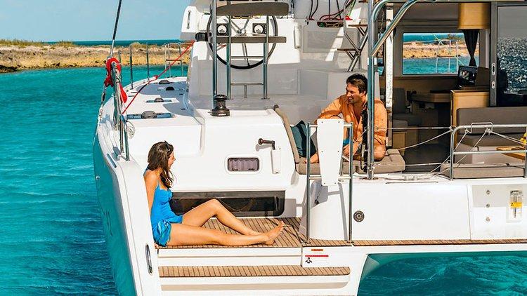 Lagoon-Beneteau boat for rent in Balearic Islands