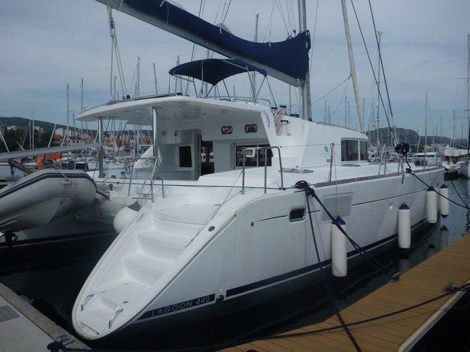 Boat for rent Lagoon-Bénéteau 44.0 feet in Marina Mandalina, Sibenik, Croatia