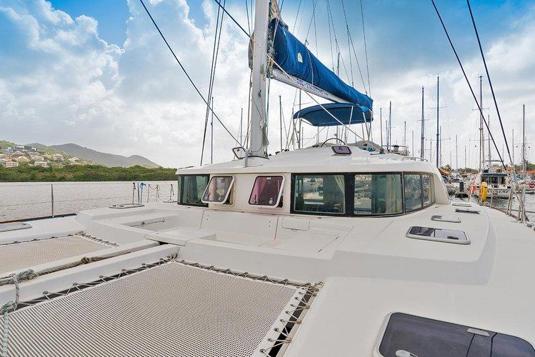 Sail St. Lucia, AN waters on a beautiful Lagoon-Bénéteau Lagoon 440