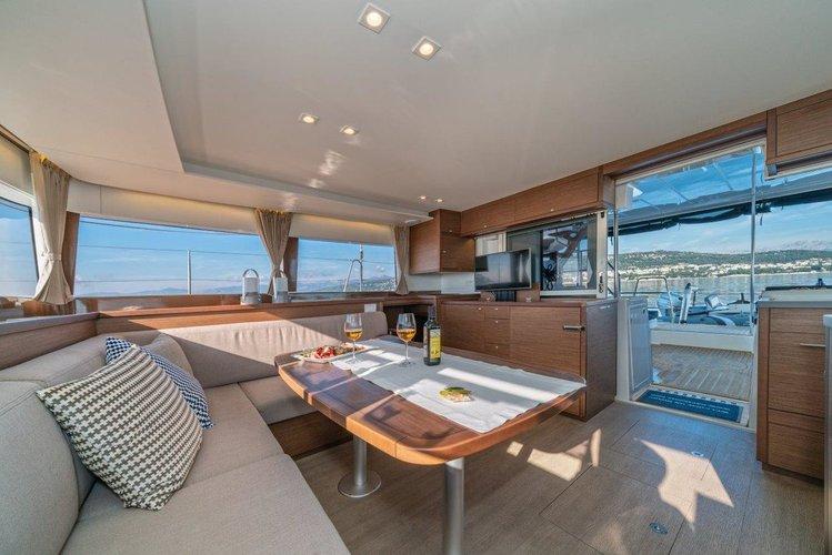 Boat for rent Lagoon-Bénéteau 45.0 feet in Marina Nava, Split, Croatia