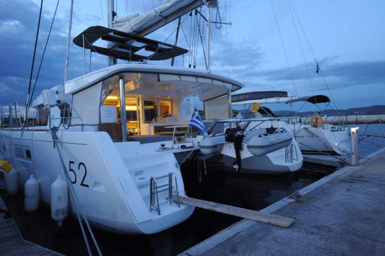 Boat for rent Lagoon-Bénéteau 51.0 feet in Cyclades, Greece