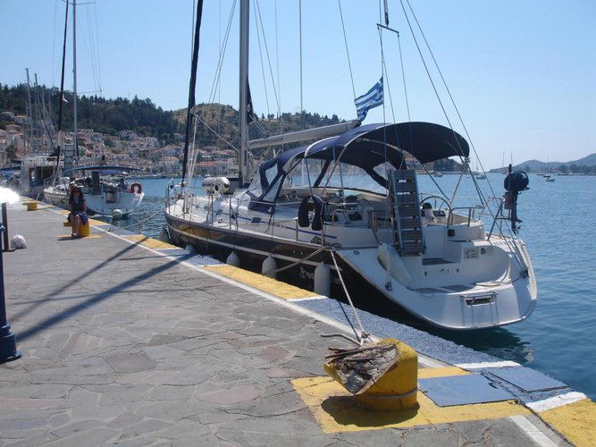 Discover Saronic Gulf surroundings on this Ocean Star 51.2 Ocean Star boat